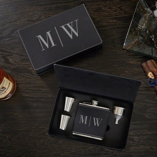 Flask Gift Set for Your Brother