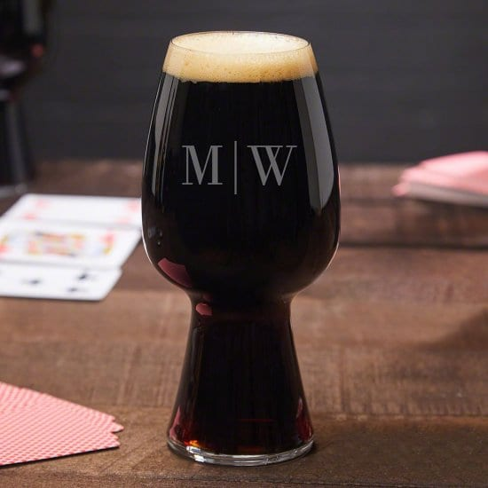 Engraved Stout Glass for Stout Lovers