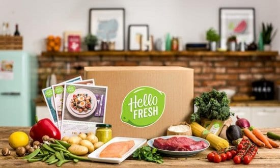 Hello Fresh Meal Delivery
