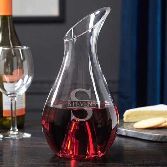 Custom Wine Decanter for Wine Lovers