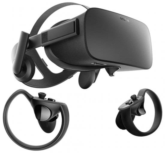 Oculus Rift Virtual Reality Set