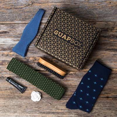 Guapbox Tie Box for Guys