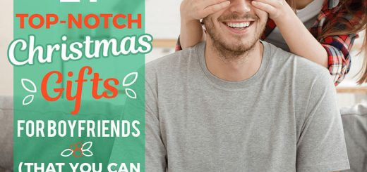 21 Top-Notch Christmas Gifts for Boyfriends (That You Can Personalize)