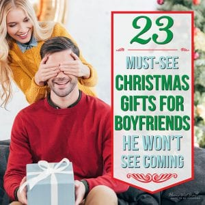 23 Must-See Christmas Gifts for Boyfriends He Won't See Coming