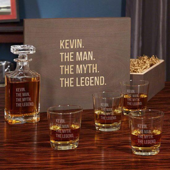Whiskey Gift Set for Christmas