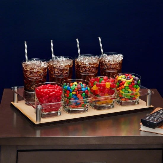 Snack and Drink Serving Set for the Holidays