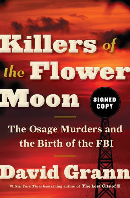 Killers of the Flower Moon Book