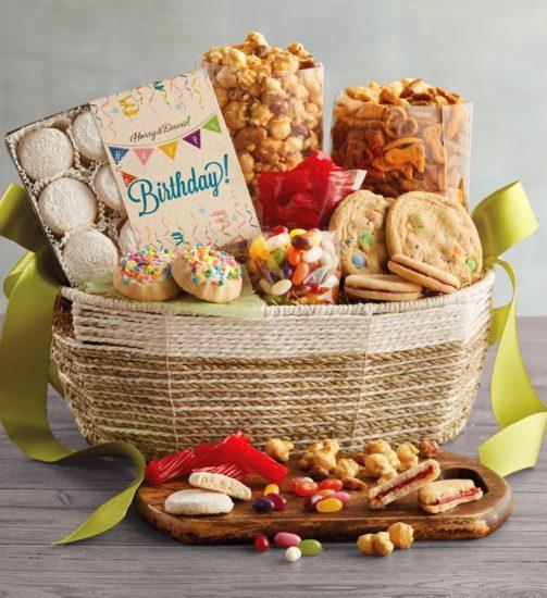 Birthday Snack Gift Basket