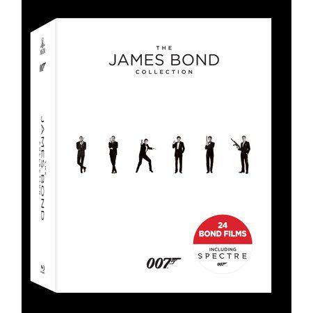 James Bond Blu-Rays for Christmas