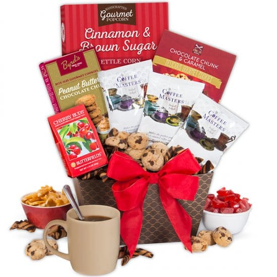 Coffee and Snacks Gift Basket