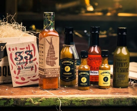 Hot Sauce Gift Basket for Men Who Love All Things Spicy