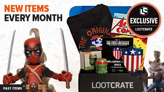 Loot Crate Subscription Box for Men