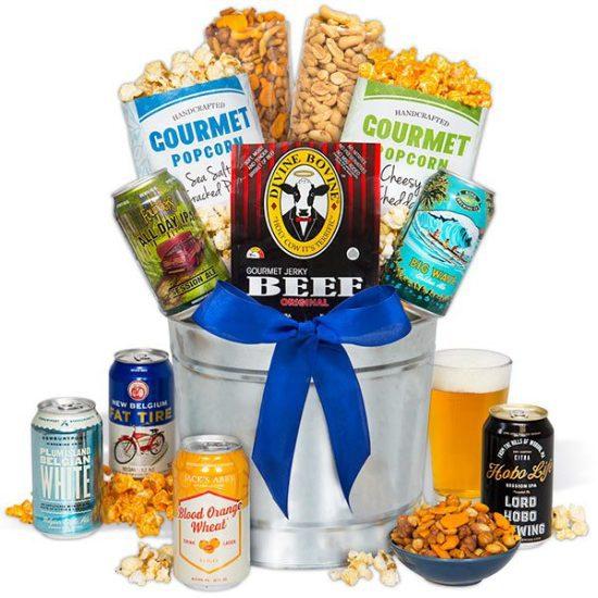 Microbrew Beer Bucket Gift Set