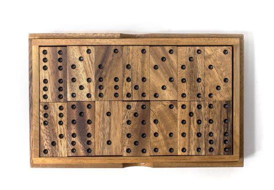 Wood Dominos Set