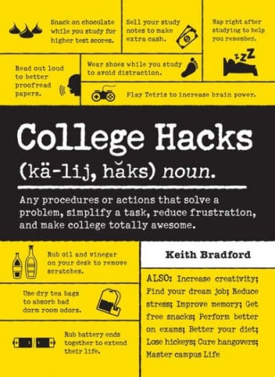 College Hacks Book for Students
