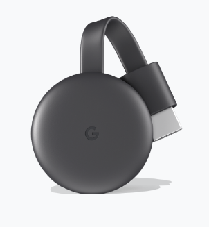 Black Google Chromecast