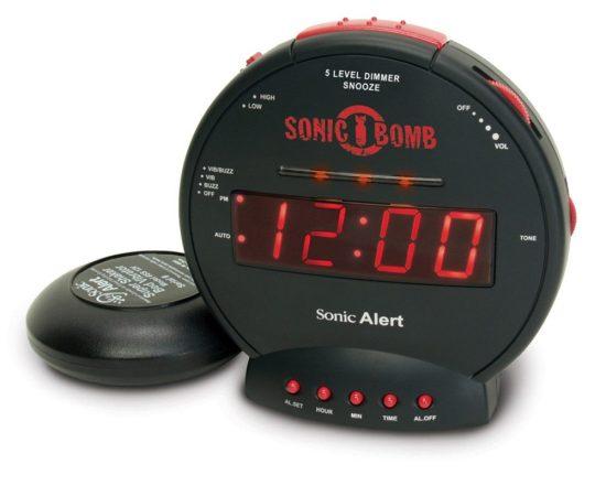 Loud Sonic Bomb Alarm Clock
