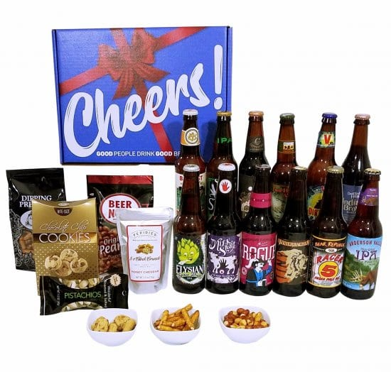 Beer and Snacks Gift Set