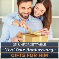 23 Unforgettable 10 Year Anniversary Gifts for Him