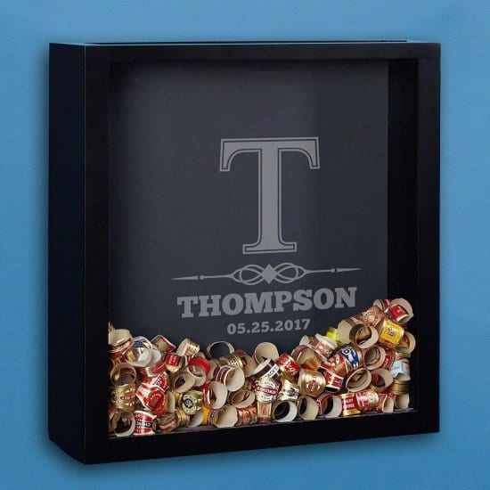 Start a Collection on His Birthday with This Shadow Box