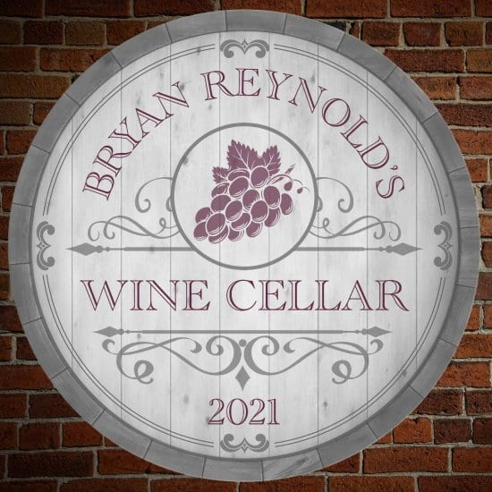 Wine Cellar Sign is a Great Wedding Gift