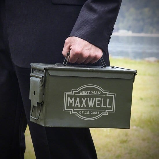 Personalized Ammunition Can Christmas Gift for Boyfriend