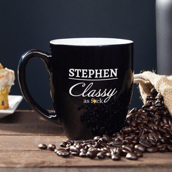 Classy Personalized Coffee Mug