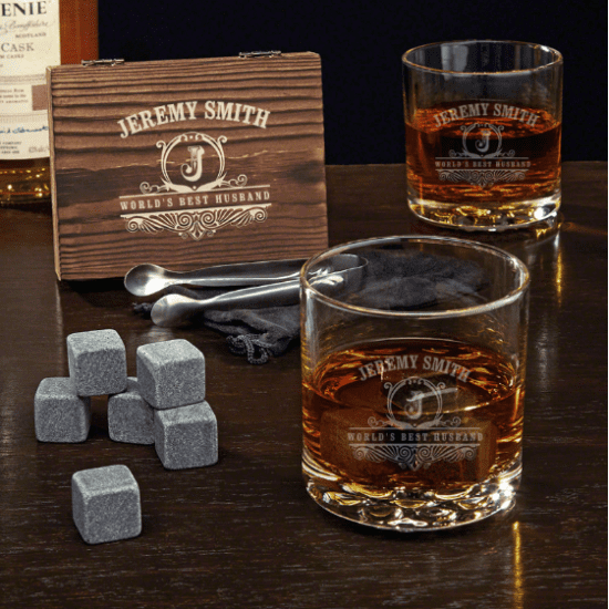 Custom Whiskey Gifts for Husband