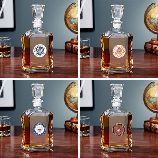 Whiskey Decanter in Four Styles