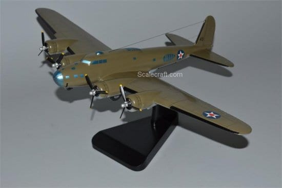 Scale Model of B-17 Airplane