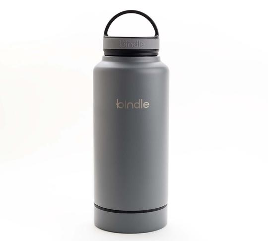 Travel Bottle with Hidden Compartment