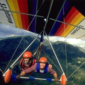 Hang Gliding Together