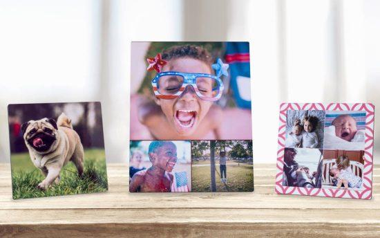 Custom Photo Desktop Plaque