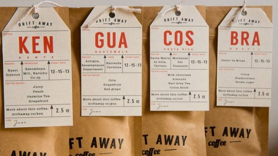 Driftaway Coffee Subscription Service