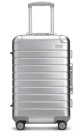 Carryon Suitcase With Built-In Charger