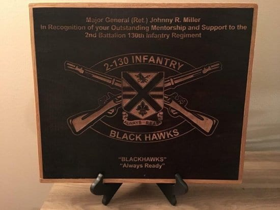 Customizable Wood Sign for Veterans