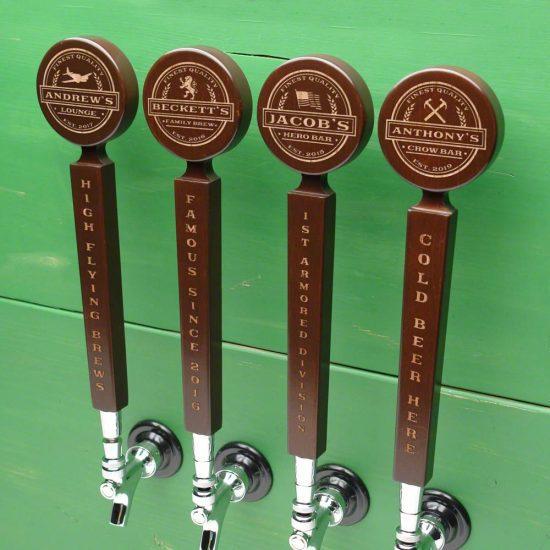 Customizable Wooden Beer Tap Handle