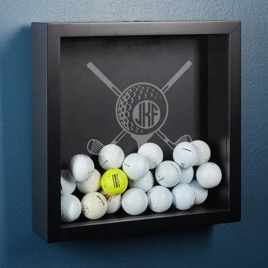 Shadow Box for Collecting Golf Balls