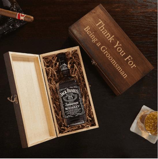 Customizable Liquor Bottle Gift Box