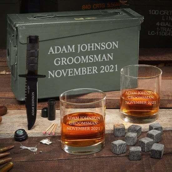 Manly Whiskey Set for College Graduates