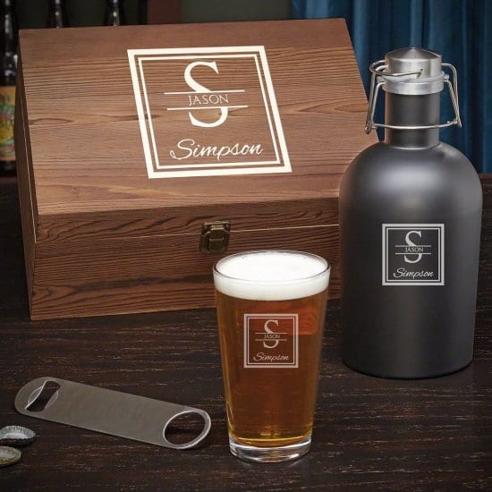 Personalized Beer Lover Gift Set for the Dad Who Loves Beer