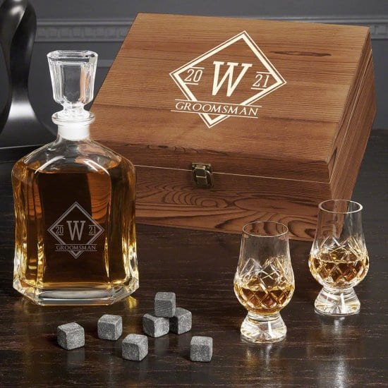 Crystal Decanter Set is a Unique Gift for Men Who Have Everything