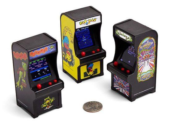 Miniature Classic Arcade Keychain Games