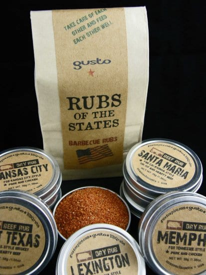 Gusto Spice Rubs