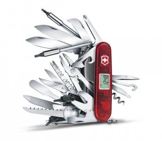 The Ultimate Swiss Army Knife with 82 Functions