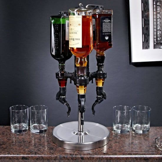 Revolving Liquor Dispenser Gift for Brother-In-Law That Likes to Play Host