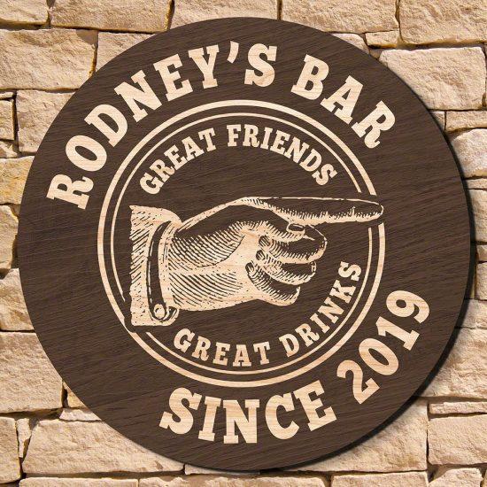 Custom Made Bar Sign