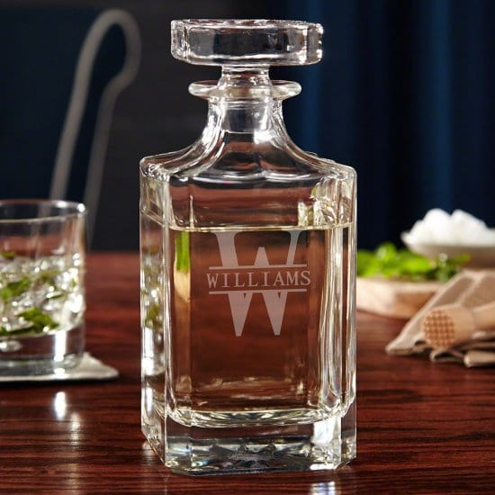 Custom Gin Decanter
