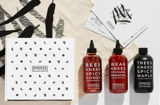 Bushwick Kitchen's Spicey Condiments Birthday Gifts for Men