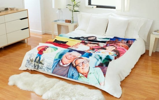 Customizable Photo Blanket